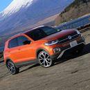 とても小型に見えない! 重厚な外観を持つVWの新型SUV「T-Cross」に試乗