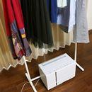 洗濯物の真下に置ける小さなハイブリッド方式除湿機「F-YHTX90」は使いやすくて、よく乾く!