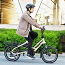 たくさん積めるタフなミニベロタイプのe-Bike! 使いやすくて走行性能も高いターン「HSD P9」