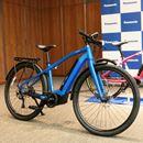東京2020オリンピックのケイリン先導車の技術を応用したクロスバイクタイプのe-Bikeを見てきた!