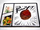 食卓が楽しくなる、マンガみたいな「コミックプレート」