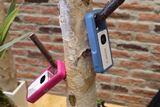身につけるカメラ!? キヤノンからカラビナデザインの新コンセプトカメラ「iNSPiC REC」登場
