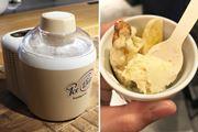ポットの冷却不要! 冷製スープも作れるアイスクリームメーカー「アイスデリ」登場