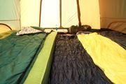 快適なファミリーキャンプは寝室にあり! 快眠できるシュラフとマットを選ぼう