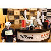 """いるのはPepperとIoTコーヒーマシン。期間限定""""無人カフェ""""に行ってみた"""