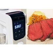 本当においしい低温調理を時短で! 真空低温調理器「The Sousvide Machine」が貝印から登場