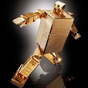 玩具を超えた輝き。「ゴールドライタン」が24金メッキで超合金化!