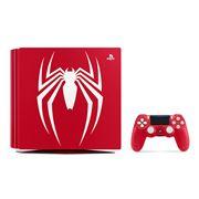 「PlayStation 4 Pro」の真っ赤なスパイダーマン仕様の限定デザインモデルが発売