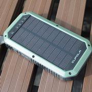 ソーラーパネル付きのモバイルバッテリーを試す、モバイルバッテリーは災害対策ツールのひとつ