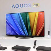 シャープは新4K/8K衛星放送へ全力コミット! 4Kチューナー内蔵「AQUOS 4K」登場