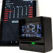 無線LAN搭載の目覚まし時計! Google カレンダーや入力ToDoを音声で読み上げ
