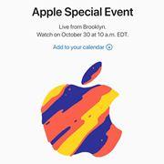 新型iPad登場!? アップルが10月30日に発表会を開催