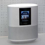 ボーズ初のスマートスピーカー「Home Speaker 500」。往年のヘッドセット技術を応用した力作