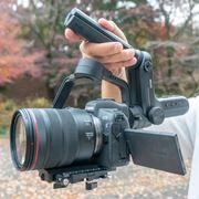 カメラ用ジンバルZhiyun「Weebill Lab」先行レビュー。つり下げ持ちで安定度アップ!