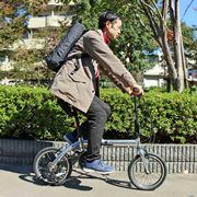 輪行にイイ! モバイルバッテリーで動く超軽量なe-Bike「ULTRA LIGHT E-BIKE TRANS MOBILLY」