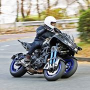 ヤマハの3輪バイク「NIKEN」でしか味わえない圧倒的な安心感がもたらす操る楽しさ