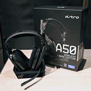 PS4にも対応!ASTRO Gamingの最新ワイヤレスゲーミングヘッドセット「A50」に注目