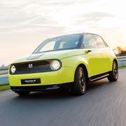 ホンダ初のEV「Honda e」日本で2020年に発売!? 後輪駆動でスポーティーな走りも