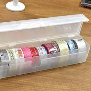 無印良品のラップケースが実は「マスキングテープ」収納に最適だった!