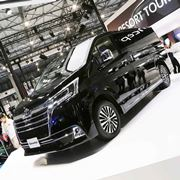 アルヴェルよりもでかい!国内最大級の高級ワゴン、トヨタ 新型「グランエース」2019年内に発売