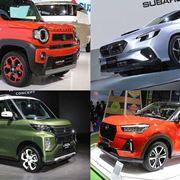 市販化直前!魅力的な新型車「レヴォーグ」「ダイハツコンパクトSUV」「eKスペース」「ハスラー」