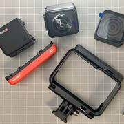 レンズ交換式アクションカム「Insta360 ONE R」発表! 1台で4K&360°撮影が可能に