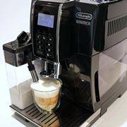 多様な本格コーヒーやミルクメニューが手軽に楽しめるデロンギ「ディナミカ(ECAM35055B)」