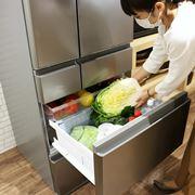 「野菜室が真ん中」冷蔵庫の本命になるかも?使いやすさにもこだわったパナソニック「MEX」タイプ