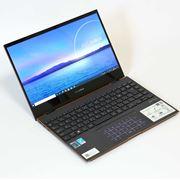 Tiger Lake搭載の「ZenBook Flip S」は、上品なデザインかつ実用度高め