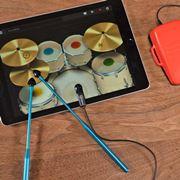 「ドラム、家で練習できない問題」が解決!? iPadが本格ドラムになるガジェット発見