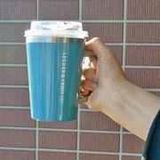 """コンビニコーヒーを""""カップごと""""入れられる保冷タンブラーが便利!"""