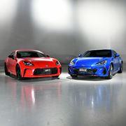 トヨタ 新型「GR86」世界初公開! スバル 新型「BRZ」の日本仕様も発表