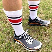 「ザ・ノース・フェイス」の靴下はレトロだけど高機能! 日々のランでヘビロテ間違いなし