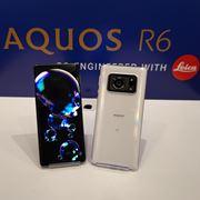 Leicaカメラと大型指紋認証付き有機ELパネルを採用。シャープ「AQUOS R6」が6月中旬発売