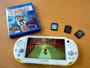 軽くてかわいくなった新型「PS Vita」買っちゃった♪