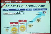 iPhone 6sで262.5Mbps に対応するドコモの「PREMIUM 4G」
