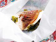 ふんわり春の香り。パナソニック「3つ星ビストロ」で作る鯛の桜蒸し