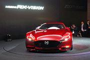 次世代の「RX-9」? マツダのロータリースポーツコンセプト「Mazda RX-VISION」