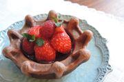 バレンタインにいかが?「ワッフルボウルメーカー」で作るワッフルチョコタルト