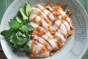 オーブンレンジ「ヘルシーシェフ」で火を使わずできるアジアン蒸し鶏