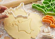 地理の勉強にも! 47都道府県のクッキー型がそろうセット