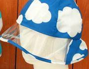 雨でも視界良好!かぶるのが楽しみになるキッズ用レインハット