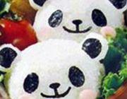「キャラ弁」初心者にもピッタリ!パンダさんのおにぎりを作ろう