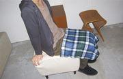 エコにおしゃれを楽しむ、「ひざ掛け男子」急増中!