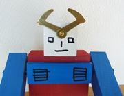 このロボットの脱力感・いけてない感・偽者感、お見事です!