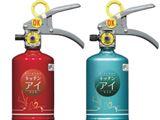 お酢と食品原料でできた「消火器」。万一の時も躊躇せず使える!