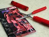機動戦士ガンダムのモビルスーツをイメージした、ペン型はさみ!