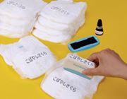 乳児期の保育園ママ待望の一品…! 紙おむつ用ネームスタンプ
