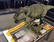 子ども大興奮! スマホで3Dの恐竜が出現する図鑑