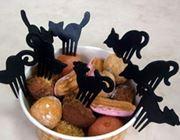 ひと口料理にぷすっとにゃんこ。キュートなネコ型ピック